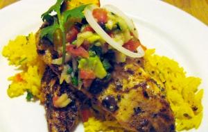 Caribbean Grilled Chicken
