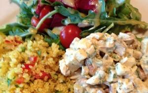 Tri Salad Plate